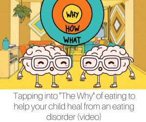 Tapping into -The Why- of eating to help your child heal from an eating disorder (video)