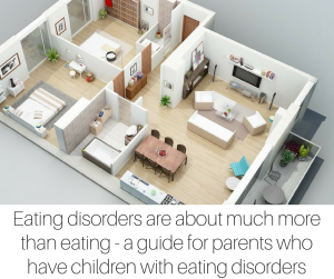Eating disorders are about much more than eating - a guide for parents who have children with eating disorders