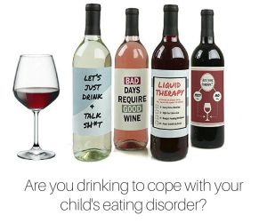 Are you drinking to cope with your child's eating disorder-