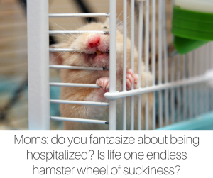Moms- do you fantasize about being hospitalized- Is life one endless hamster wheel of suckiness- (1)